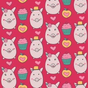 Classy pigs and cupcakes