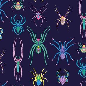 pop art spiders
