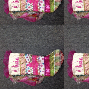 Beautiful custom Christmas stocking