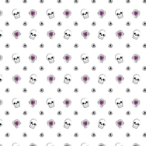 Flowers & Skulls