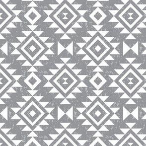 Textured Aztec - Whisper