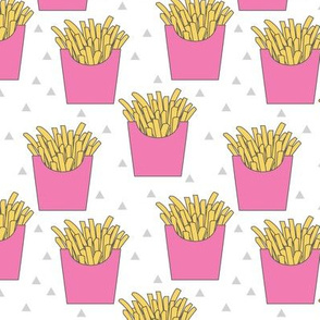 french-fries-with-pink-box on white