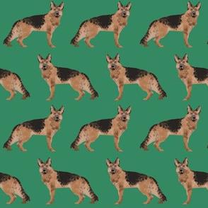 german shepherd dog cute green dog fabric for german shepherd owners sweet dogs dog fabric dogs pets