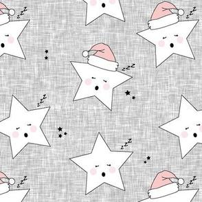 sleepy stars || holiday rose quartz