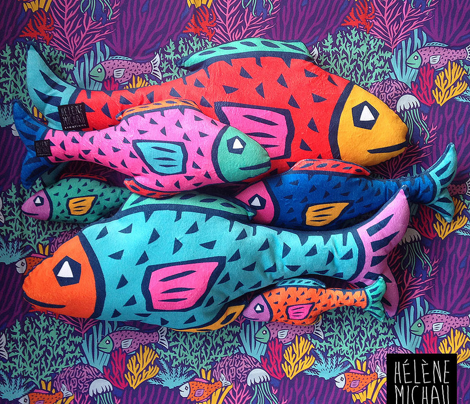 Fish-Plushie