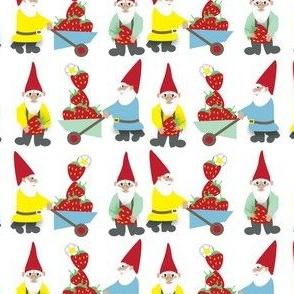 working gnomes ©2016 Jill Bull