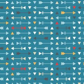 Arrow Stripes - Teal