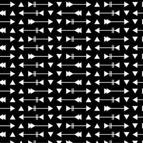 Arrow Stripes - Black & White