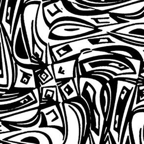 Technophobia - black & white