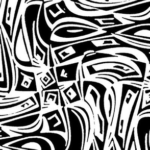 Technophobia - white & black