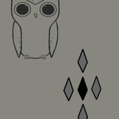 MR OWL gray