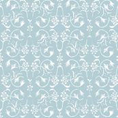 Vintage Belle - Light Blue Grey