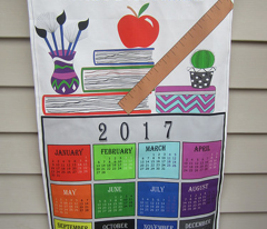 2017 Best Teacher Calendar