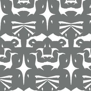 Island Tribal Design 5 Soot