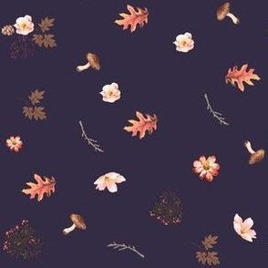 Autumn in the Woods - Deep Purple