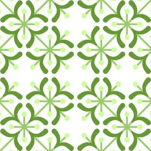 tile : hints of mistletoe