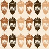 Acorns Big Stripe - Autumnal Brown Mix