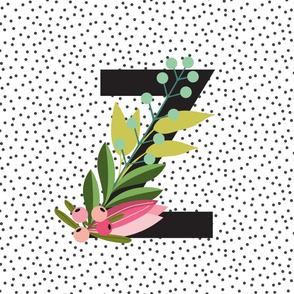 Garden Letters  - Letter Z