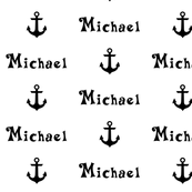 Custom Name Anchor Pattern