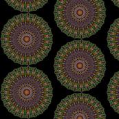 Halloween Kaleidoscope mandala