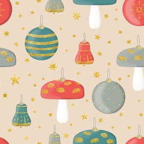 Vintage Chirstmas Ornaments