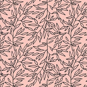 Small branches // Pink and black