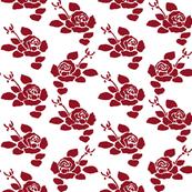 Anita Small - Dark Red Reversed