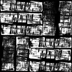 haphazard- black & white_