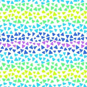 Marker doodle triangles
