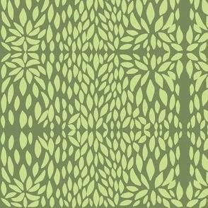 clover petal lime/olive