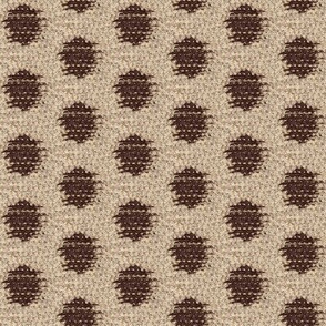 Kasuri Weave - brown/tan