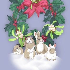 *Bunny family Christmas *