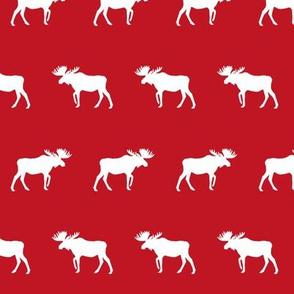 moose red canada kids nursery boys boy outdoors hunting