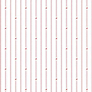 Christmas Pinstripe