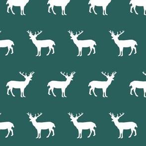 deer silhouette green christmas xmas holiday christmas deer woodland