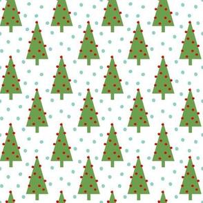 christmas tree forest woodland christmas holiday design simple nordic christmas tree