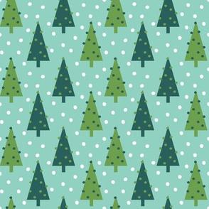 christmas trees holiday xmas mint and green holiday xmas