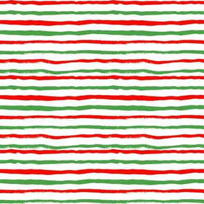 christmas stripes red and green hand painted stripes holiday xmas christmas festive stripe coordinate