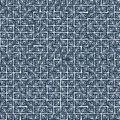At Square Small - Moroccan Blue