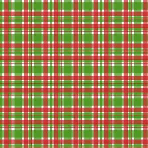 Christmas Plaid-Green