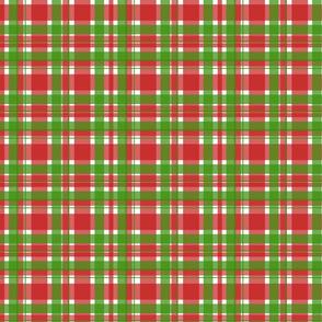 Christmas Plaid Red