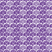 Fan - Violet & Wisteria