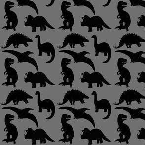 Dinosaurs-Gray