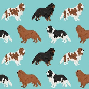 cavalier king charles spaniel fabric cute dog pet dogs blemein fabric ruby cavalier black and tan dog cute dog coat dog breed fabric