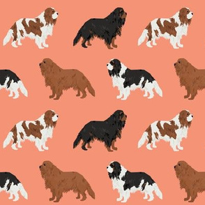 cavalier king charles spaniel dog cute pet dog dogs pets dog fabric