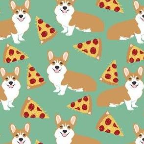 corgi pizza for dog owners corgi owners cute corgi funny corgi fabric