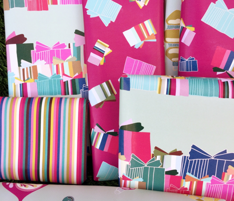 Rows of Colorful Presents_Miss Chiff Designs