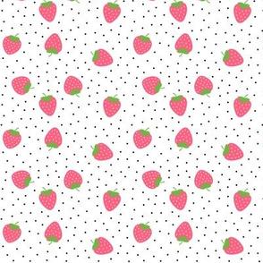 strawberries pink :: fruity fun