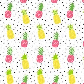 pineapples + pink :: fruity fun