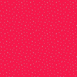 triangle confetti red :: fruity fun